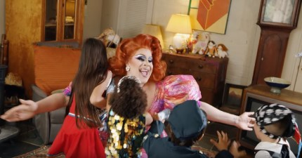 "Nina West in music video ""Drag is Magic"""