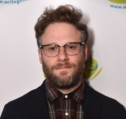 Seth Rogen at Linwood Dunn Theater on April 06, 2019 in Los Angeles, California.