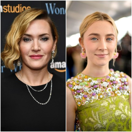 Ammonite: First image of Kate Winslet and Saoirse Ronan as lesbian lovers