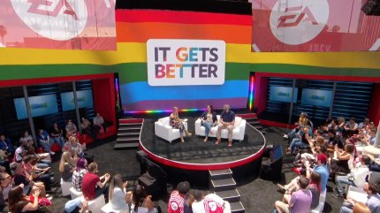 The Sims 4 Pride content was unveiled during the EA Play event. (Electronic Arts)