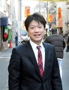 Taiga Ishikawa, Japan's first openly gay politician (Credit: Satoko Kawasaki)