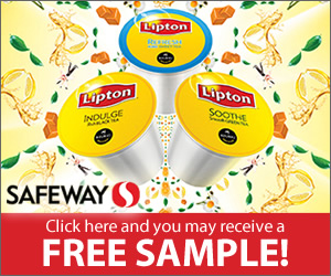 Try new Lipton K-Cup Packs. A fresh spin on America's favorite tea. (CA ONLY)