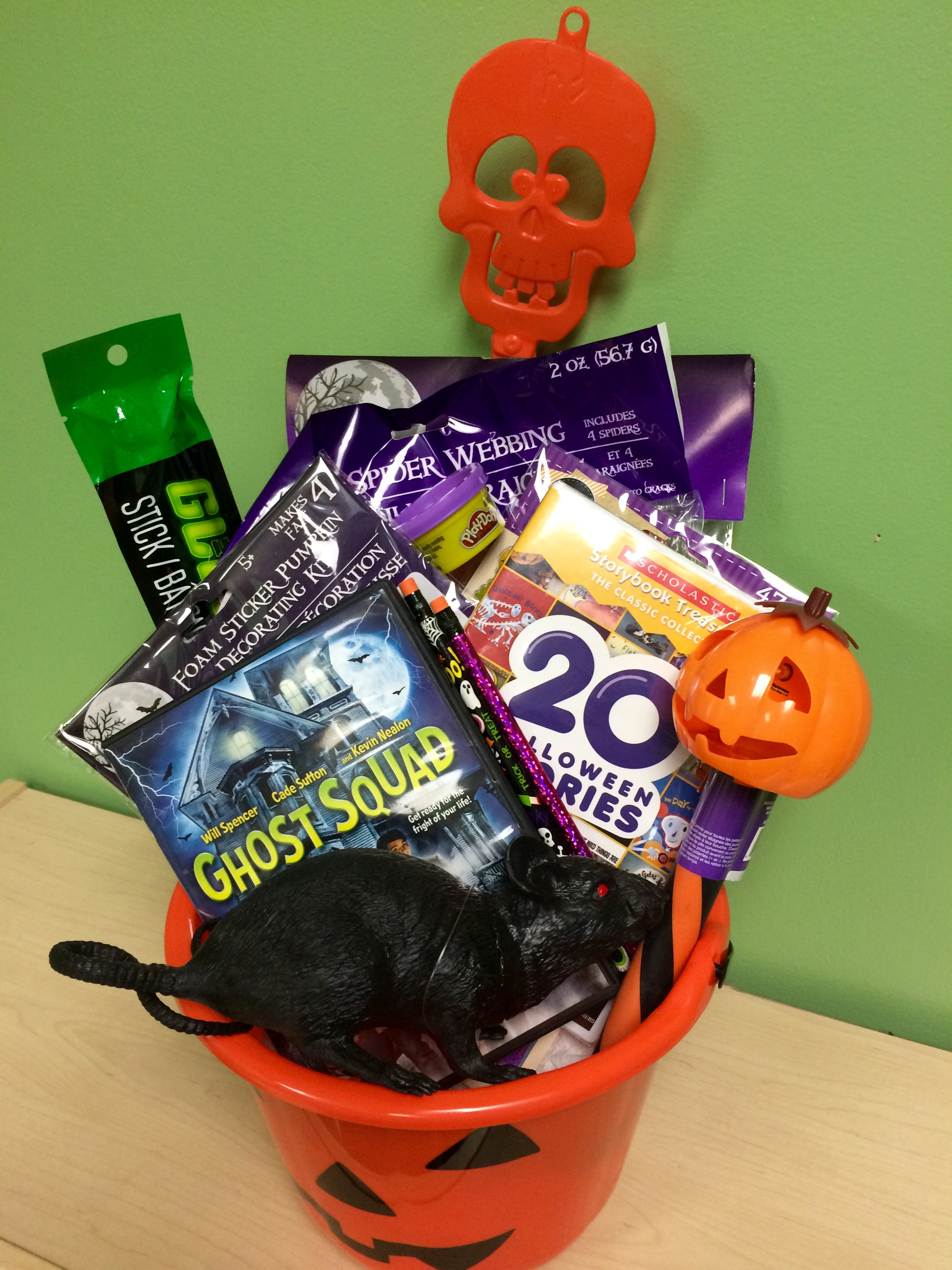 Cinedigm Halloween Gift Basket | Pink Ninja Blogger