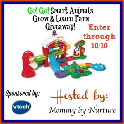 Go! Go! Smart Animals Grow & Learn Farm Giveaway {US | Ends 10/10}