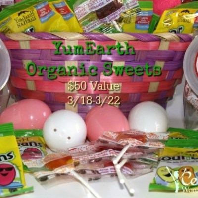 YUMEARTH Easter Candy Giveaway {US   Ends 03/22}