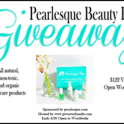 Pearlesque Beauty Box Giveaway {WW | Ends 03/28}