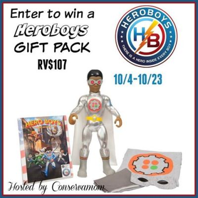 Heroboys Gift Pack Giveaway {US   Ends 10/23}