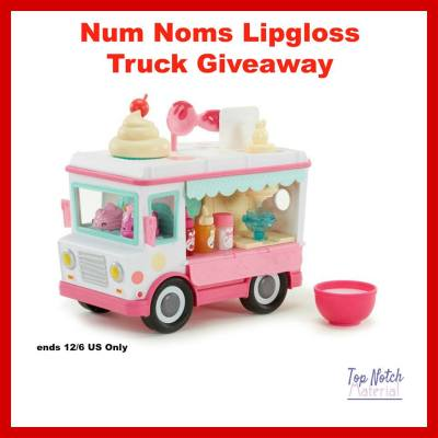 Num Noms Lipgloss Truck Giveaway {US | Ends 12/06}