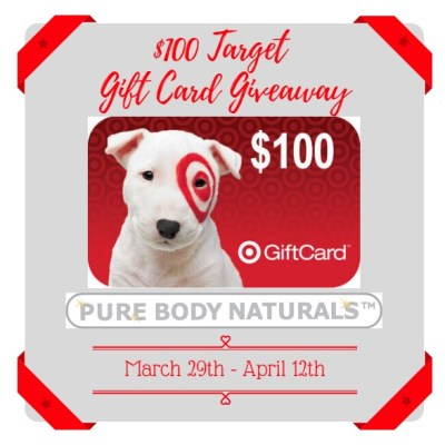 $100 Target Gift Card Giveaway {US | Ends 04/12}