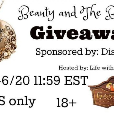 Beauty and The Beast Exclusive Giveaway {US | Ends 06/20}