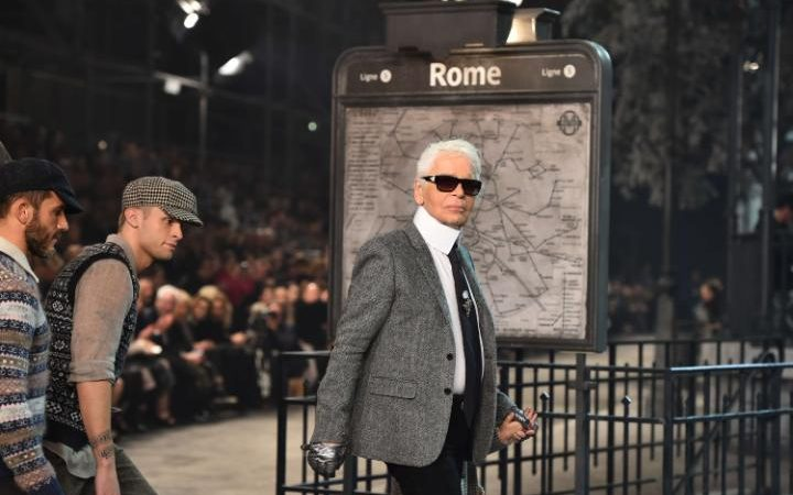 Chanel visits Paris is Rome