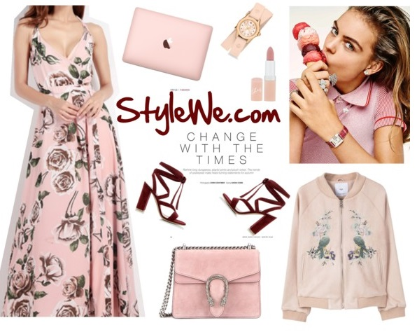 Stylewe maxi dress outfit inspiration