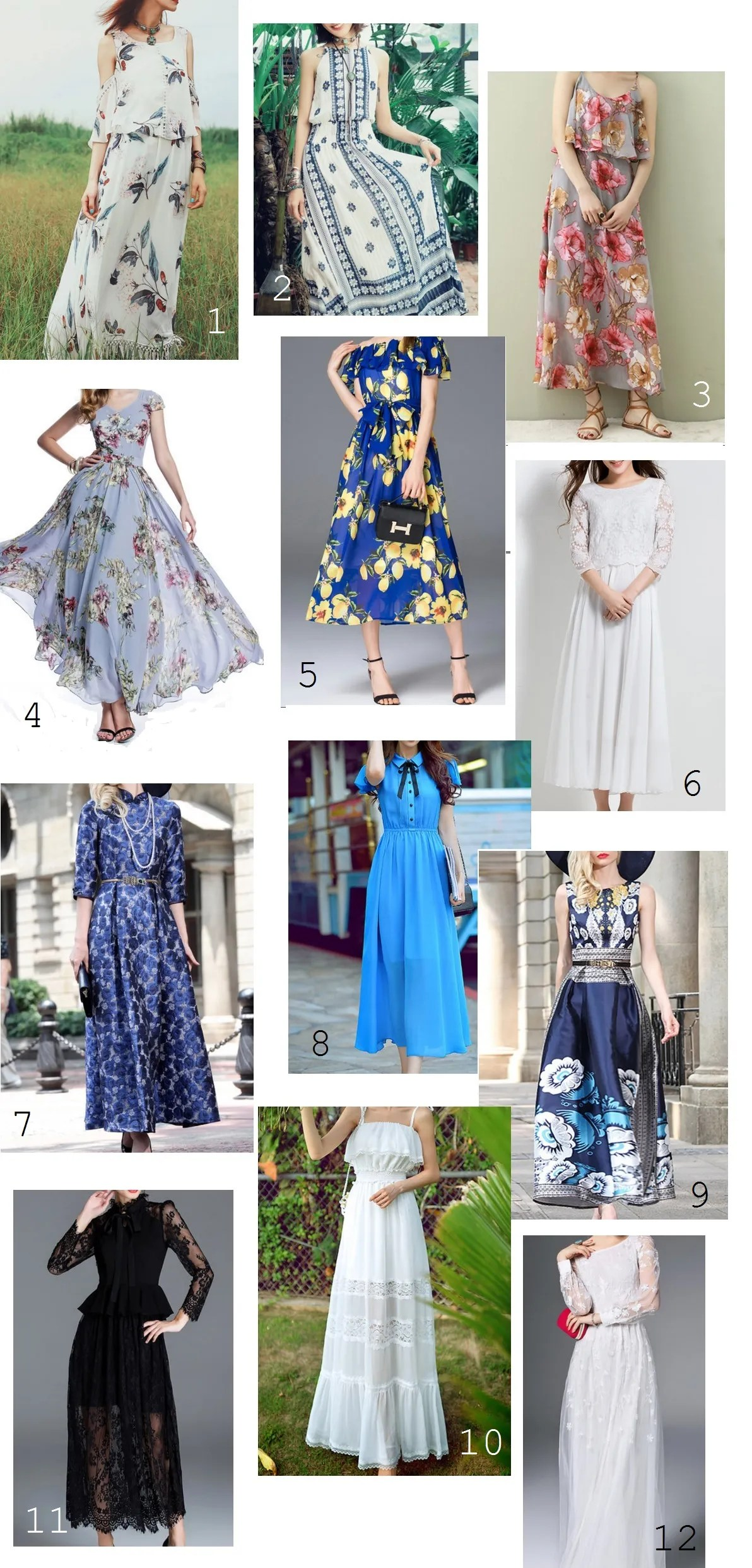 Stylewe maxi dresses numbr