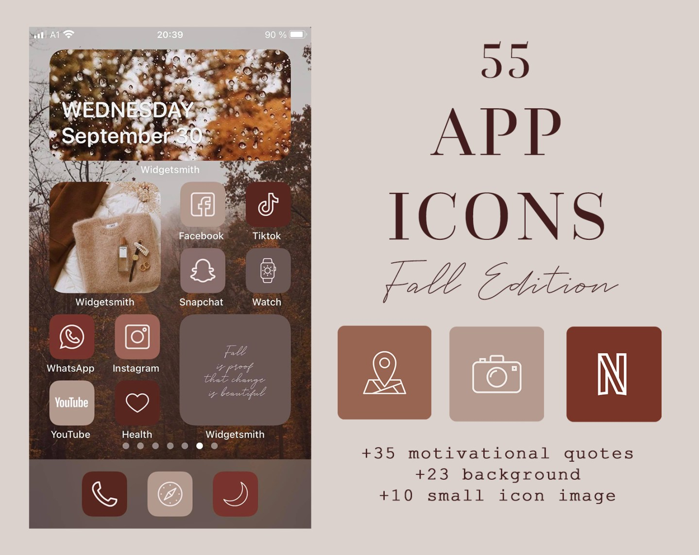 How To Change App Icons + New IOS 14 App Icon Packs