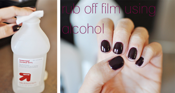 Remove The Tacky Surface On Traditional Gelish Top It Off French Manicure Layer Using A Lint Free Wipe And Nail Cleanse