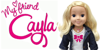 my friend cayla interactieve pop
