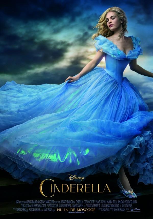 Cinderella poster NL Post release 600x857 - Winactie: Cinderella