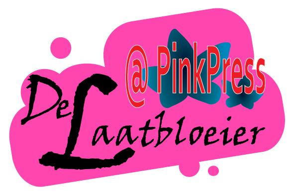 De Laatbloeier Gastblogger @ PinkPress Signature Logo 01 - Nieuwe PinkPress Gastblogger: De Laatbloeier In Het Roze