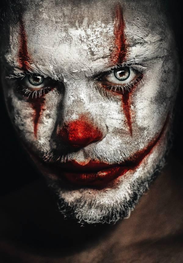 grote angst voor clowns