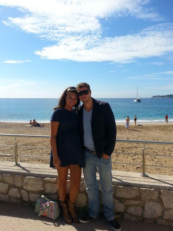 Samen naar Cassis in Frankrijk. Mocht hij mijn assistent zijn :D
