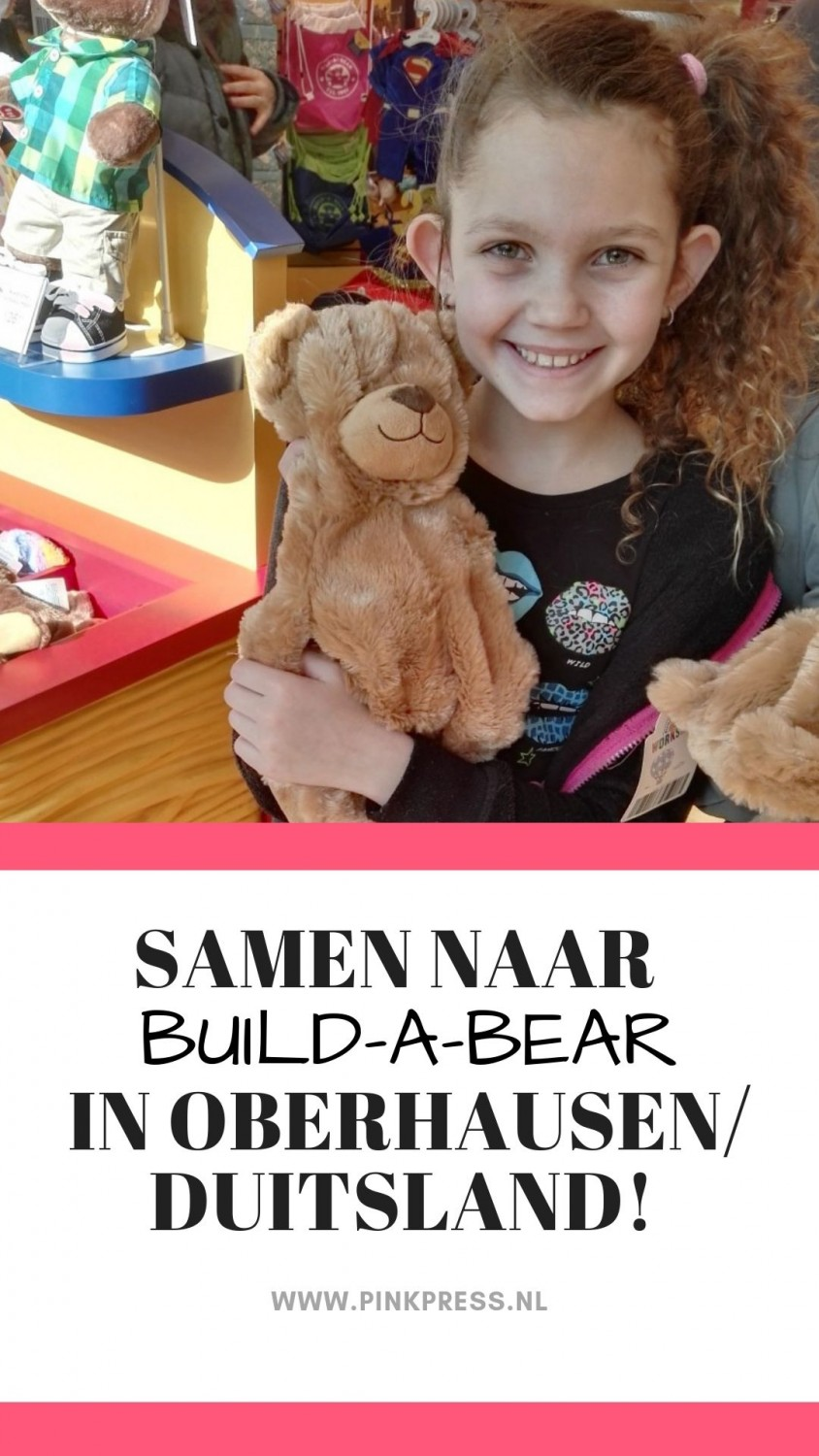 build a bear 1 - Samen naar Build-a-Bear!