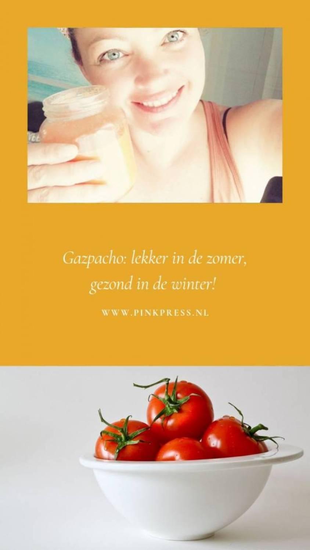 Gazpacho vitamines verkouden gezond smoothie  - Gazpacho! Lekker fris voor de hartige trek