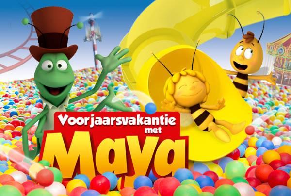 VoorjaarsvakantieMetMaya Websitebeeld - Naar Maya de Bij in de voorjaarsvakantie. Win 4 kaarten!