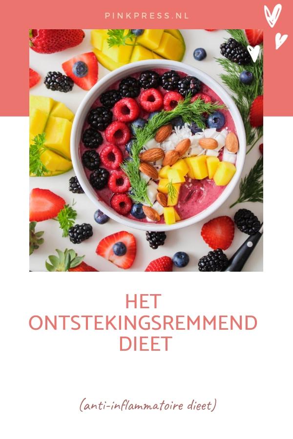 anti inflammatoire dieet - Het anti-inflammatoire dieet - ontstekingsremmend dieet