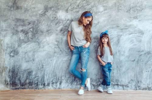 twinning - Dezelfde kleren als mama en papa?