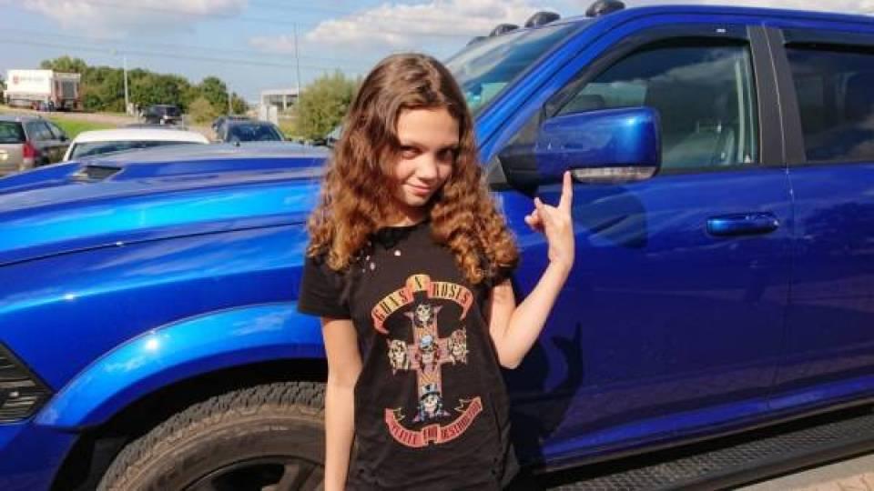 DSC 0141 - OOTD// Teenager Rock Chick!