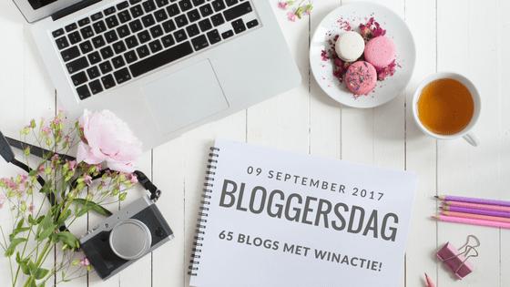 bloggersdag - Een super ninja winactie (en nog 64 andere!) op bloggersdag