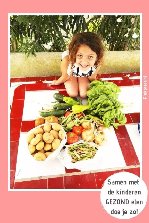 samen met de kinderen gezond eten doe je zo - Gezond eten voor jou en je kind