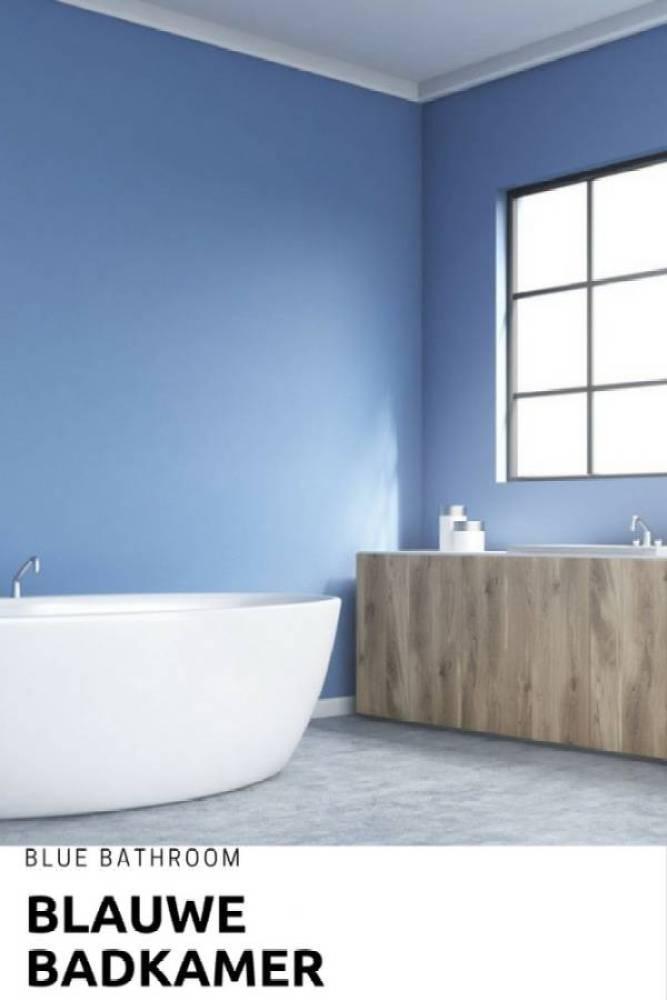 blauwe badkamer - Mijn 5 ideeën voor in de nieuwe badkamer
