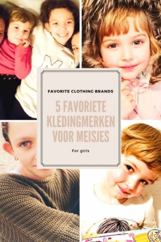 favorite kledingmerken - De 5 leukste kleding merken voor meisjes
