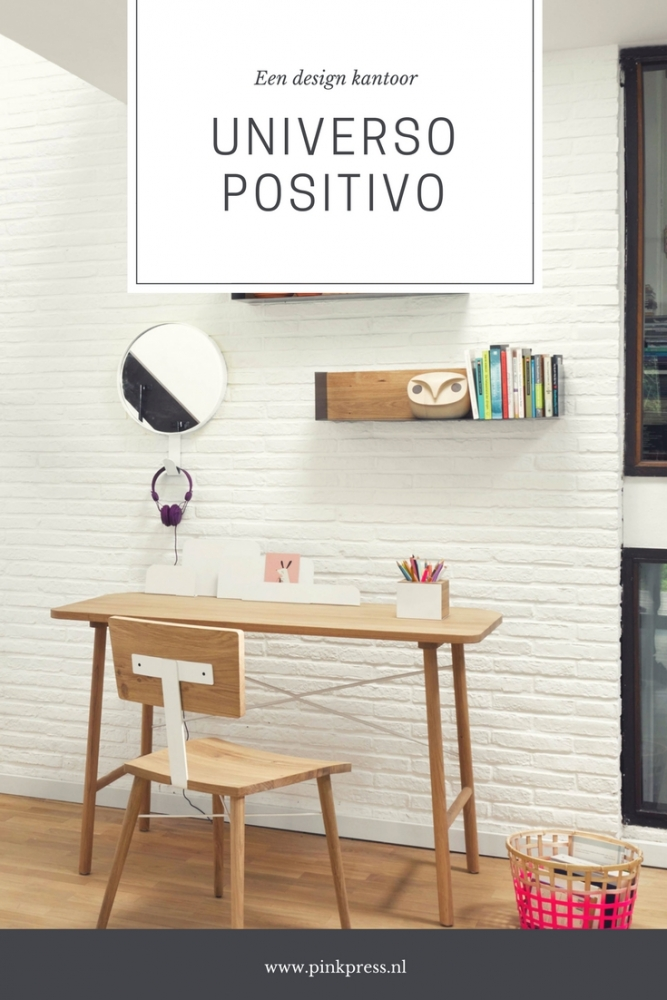 Een design kantoor - Een design kantoor aan huis met Universo Positivo