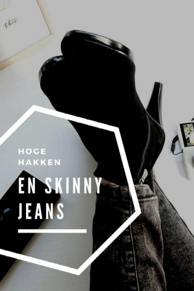 Hoge hakken - New in!   Hoge hakken en skinny jeans   #OOTD