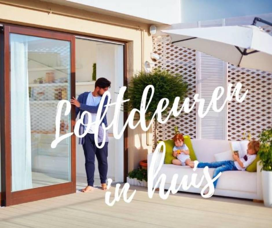 loftdeuren - Loftdeuren voor een bijzondere sfeer | Slim met kleine kinderen!