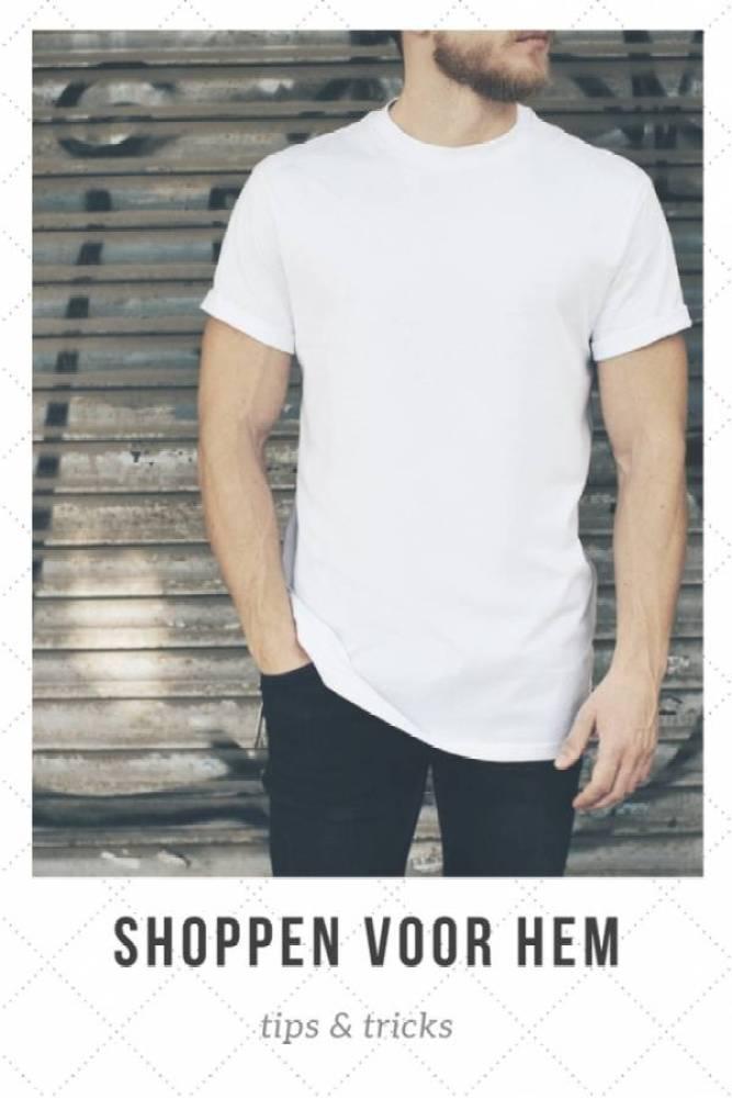 shoppen voor hem - T-shirt shoppen voor je man? | 3 tips!