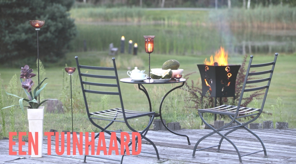 tuinhaard - De tuinkachel: een sfeermaker voor elk seizoen