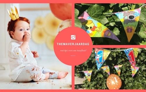 themaverjaardag1 - Alles voor een themaverjaardag   Met tips voor een tuinfeest