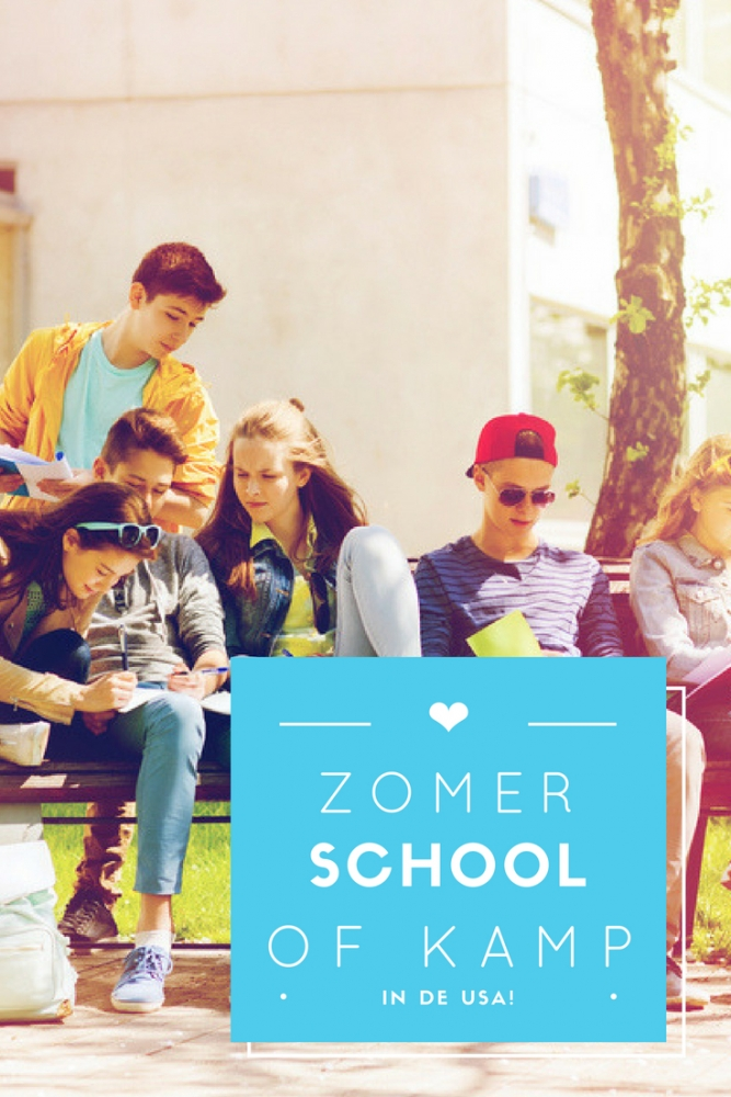 summercamp of talencursus in Amerika - Op zomerkamp | talencursus | naar highschool in Amerika