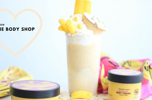 the body shop - Let's go bananas met de Limited Edition Banana-lijn van The Body Shop