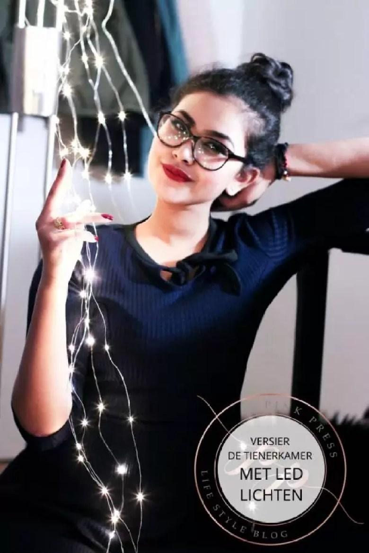 versier de tienerkamer met led lampen