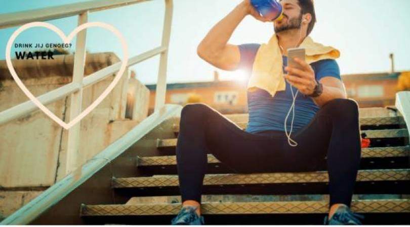 water - 3 Tips om voldoende water te drinken