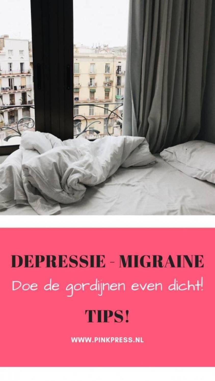 ptss migraine gordijnen donker - Tijd om de rolgordijnen even dicht te doen