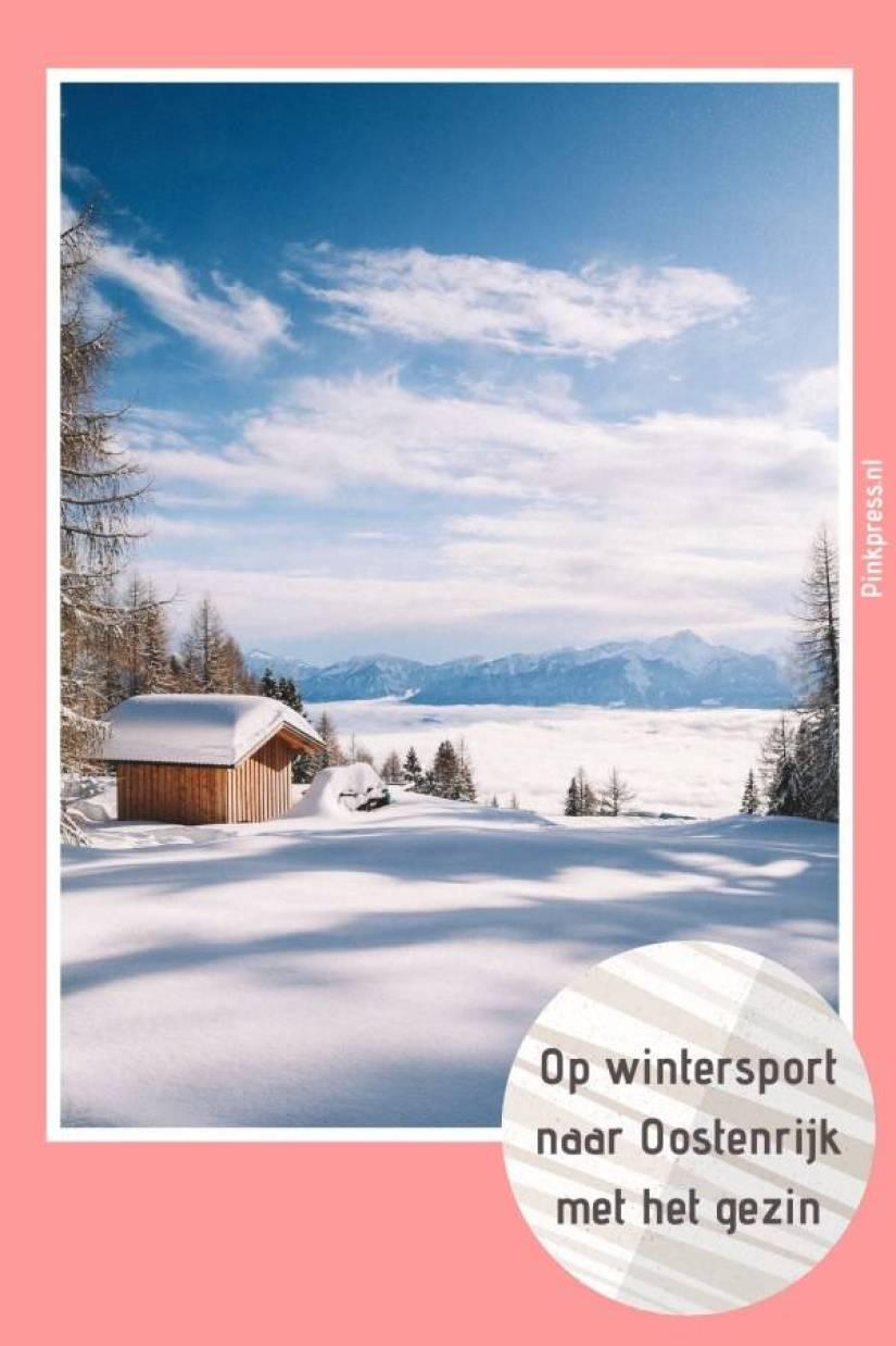 op wintersport naar oostenrijk