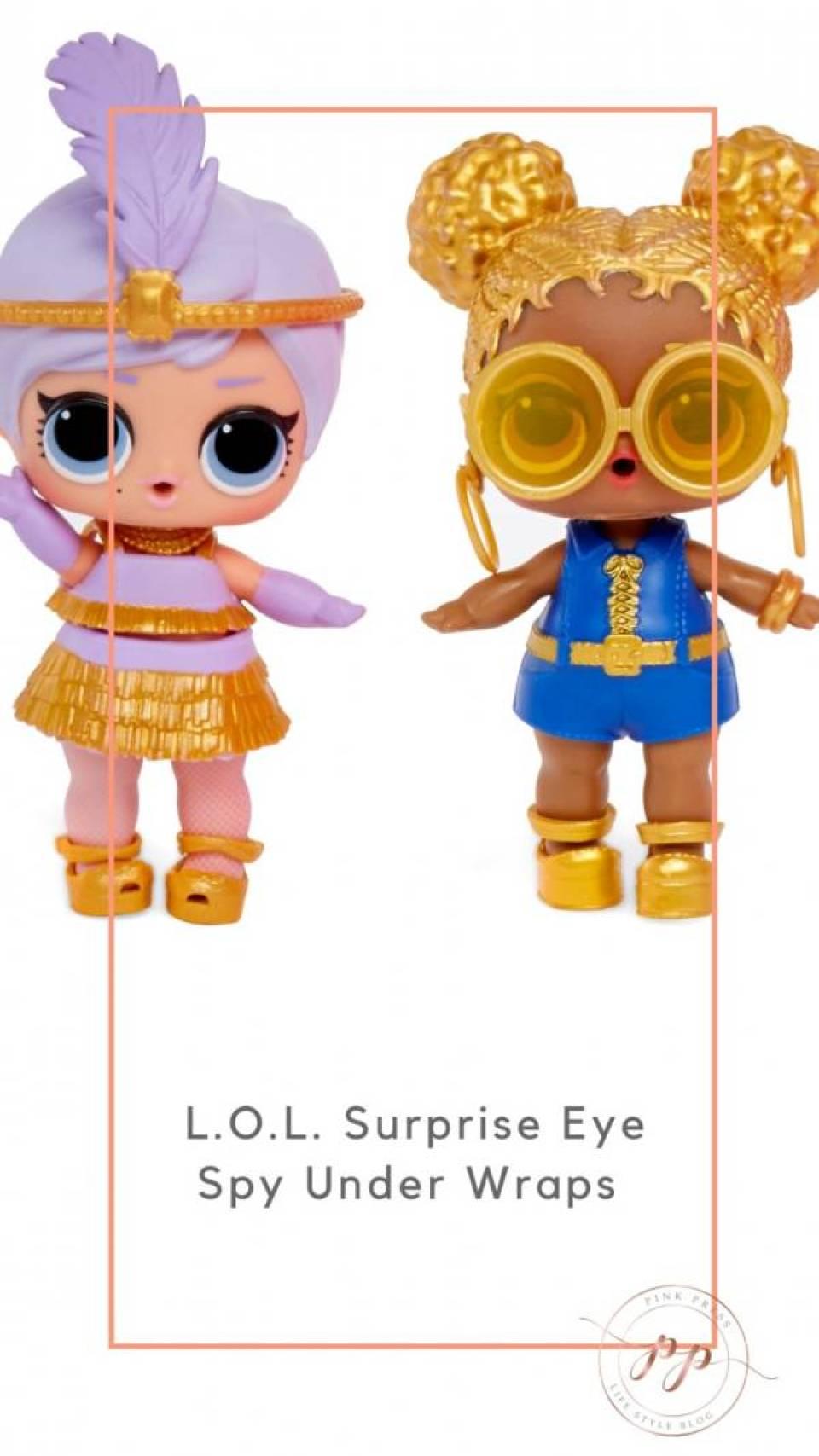 LOL Surprise Eye Spy Under Wraps - L.O.L. Surprise Eye Spy Under Wraps