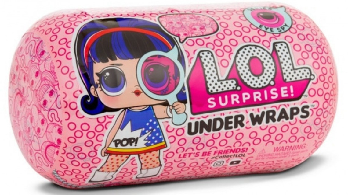 Surprise Eye Spy Under Wraps 2 - L.O.L. Surprise Eye Spy Under Wraps