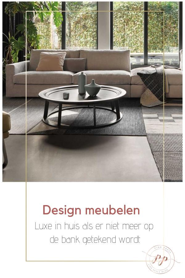 Luxe in huis design meubelen - Design meubelen| luxe in huis als er niet meer op de bank getekend wordt
