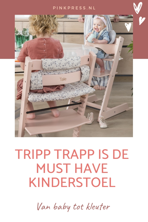 Tripp Trapp Stokke - De Stokke Tripp Trapp stoel voor elk kind een aanwinst